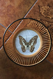 Vintage 70's Hand-made Butterfly & Bamboo Bowl - Penny Bizarre - 3