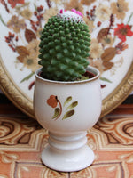 Hand Painted Vintage 1970's Pottery Plant Holder Goblet - Penny Bizarre - 2