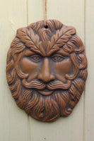 Indian Green Man Ceramic Wall Plaque - Penny Bizarre - 2