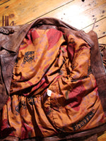 Vintage Brown Leather Biker Tassel Jacket - Penny Bizarre - 8