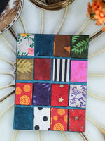Hand Made Nepalese Patchwork Notebook - Penny Bizarre - 3