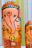 Hand-made Wooden Russian Dolls Set Ganesh Elephant - Penny Bizarre - 2