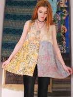Pieces of Bali Batik Patchwork Blouse - Penny Bizarre - 5