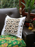 Indian Hand Made Paisley Cushion Cover - Penny Bizarre - 5