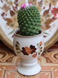 Hand Painted Vintage 1970's Pottery Plant Holder Goblet - Penny Bizarre - 1