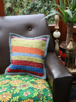Hand Made Kilim Rag Rug Cushion Cover - Penny Bizarre - 5