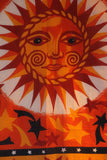 Indian Wall Hanging Sun & Stars Orange - Penny Bizarre - 2