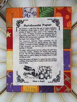 Hand Made Nepalese Patchwork Notebook - Penny Bizarre - 7