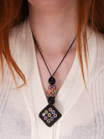 Flower Child Hand Crafted Indian Necklace - Penny Bizarre - 1