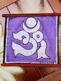 Hand Made Indian Elephant Om Batik Wall Hanging - Penny Bizarre - 15