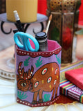 Nepalese Hand Painted Pen Holder - Penny Bizarre - 8