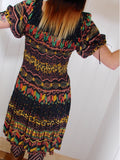 Free Spirit Bohemian Indian Cotton Dress - Penny Bizarre - 6