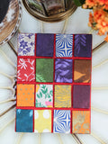 Hand Made Nepalese Patchwork Notebook - Penny Bizarre - 4