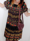 Free Spirit Bohemian Indian Cotton Dress - Penny Bizarre - 4