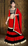 Red Color Georgette Lehenga u00f8u00e5 u00e5