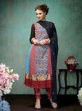 Multi-Color Indian Pakistani Bollywood Designer Georgette Salwar Kameez Ethnic Party Wear u00f8u00e5 u00e5