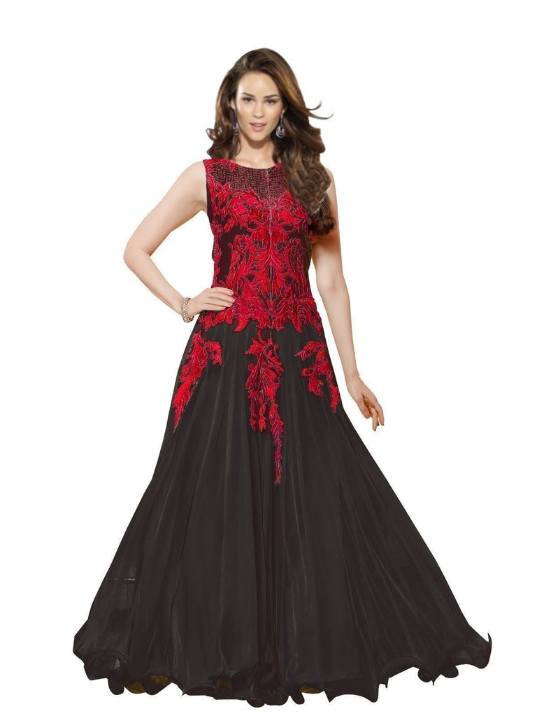 Princely Red Fancy Anarkali u00f8u00e5 u00e5