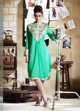 Sea Green Kurtis Readymade Embroidered - 34065 u00f8u00e5 u00e5