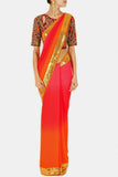Multi Color Georgette Saree u00f8u00e5 u00e5