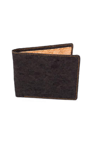 Peněženka Corature Cork BiFold Wallet Black