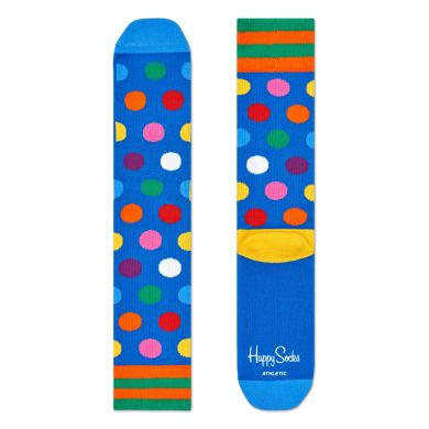 Happy Socks Athletic Ponožky Big Dot blue