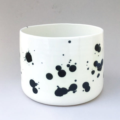 Dalmatian flower pot, x-large size