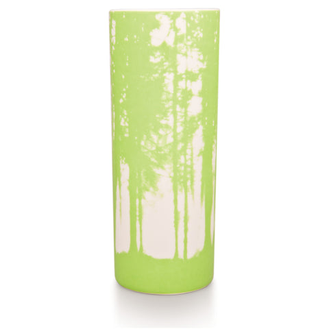 Woodlands vase, pale green