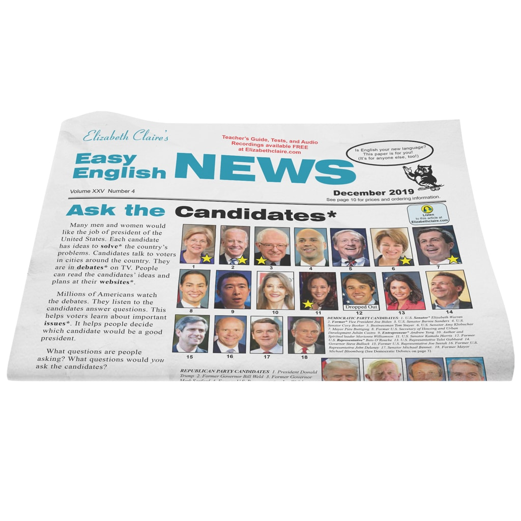 Easy English NEWS December 2019