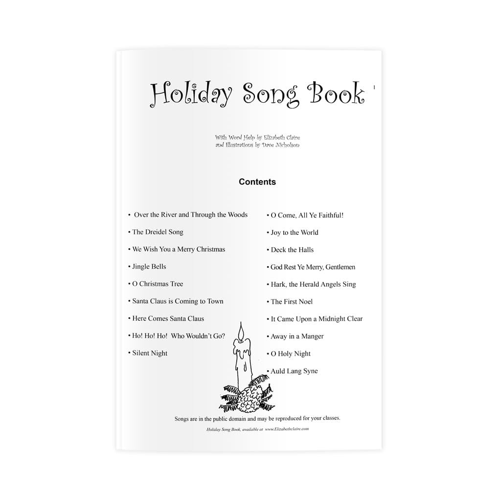 Holiday Song Book