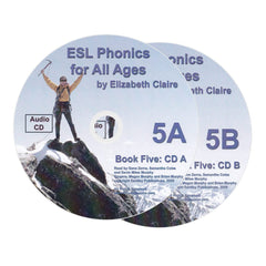 ESL Phonics for All Ages, Book Five Audio CDs