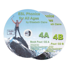 ESL Phonics for All Ages, Book Four Audio CDs