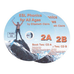 ESL Phonics for All Ages, Book Two Audio CDs