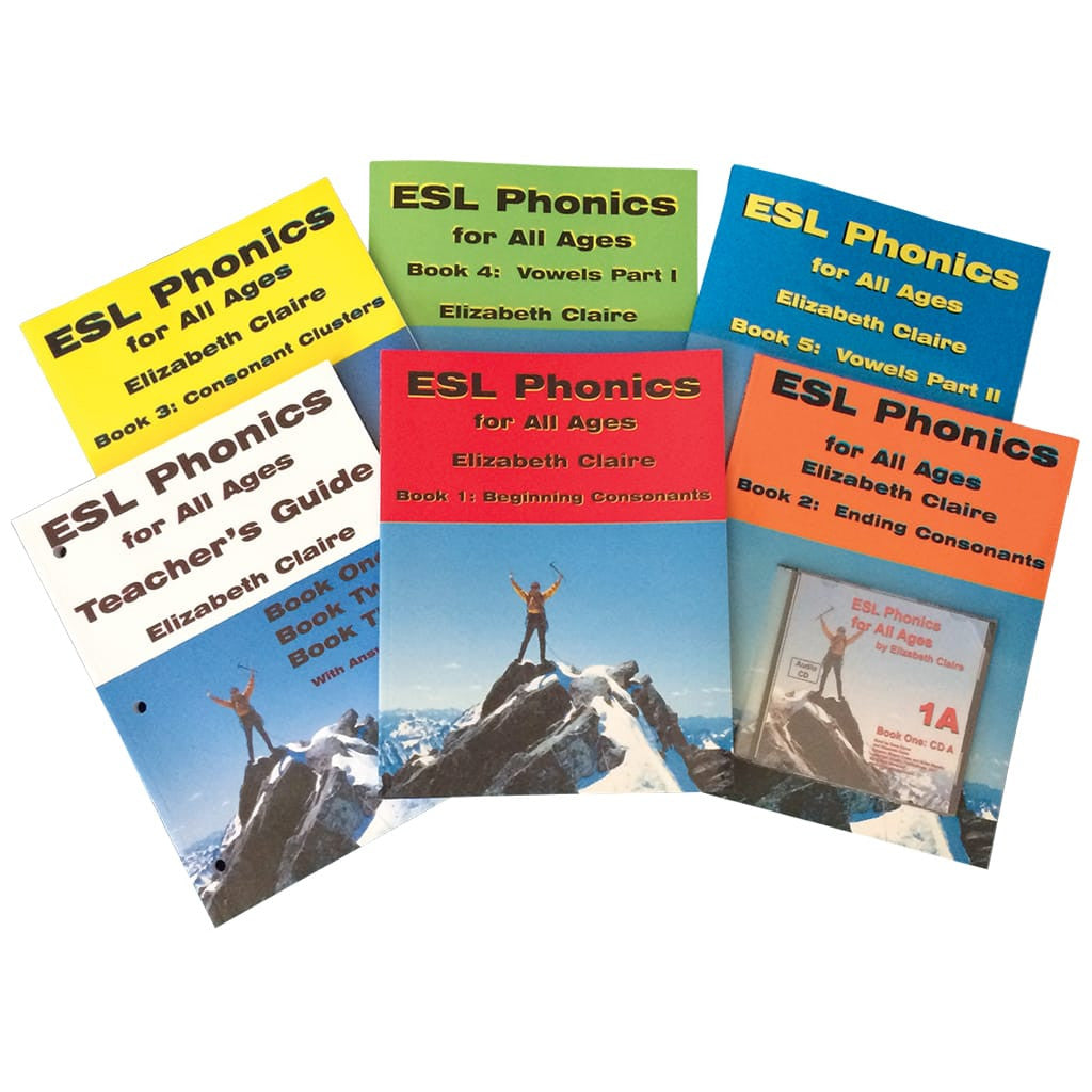 ESL Phonics for All Ages Quick-Start Pack
