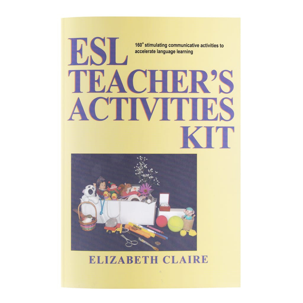 esl teacher s activities kit esl teacher training elizabeth