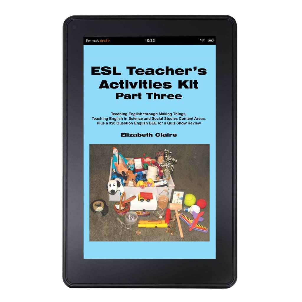 ESL Teacher's Activities Kit Part Three Kindle Edition