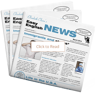 Elizabeth Claires Easy English News
