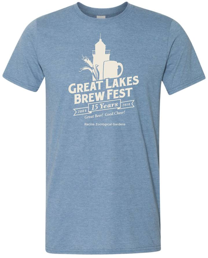 GLBF Anniversary Unisex T-Shirt - Heather Indigo