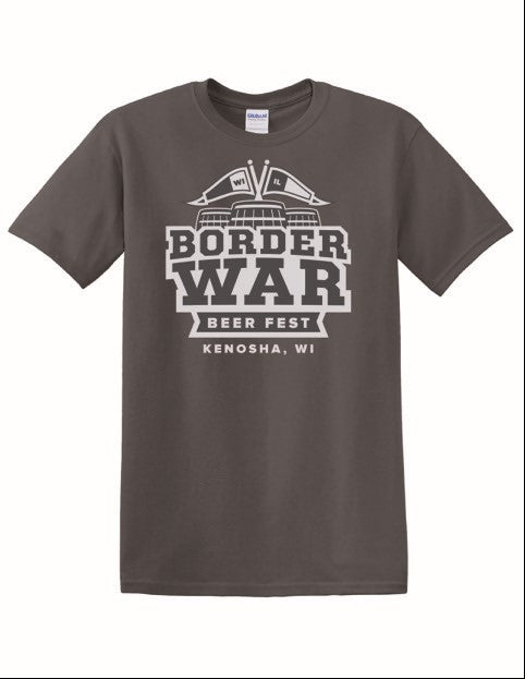 Border War Beer Fest - Gray T-Shirt