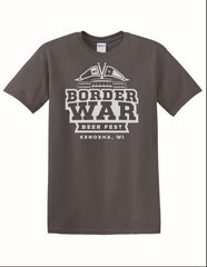2018 Border War Beer Fest - Gray T-Shirt