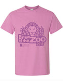 Brew at the Zoo Orchid T-shirt 2018