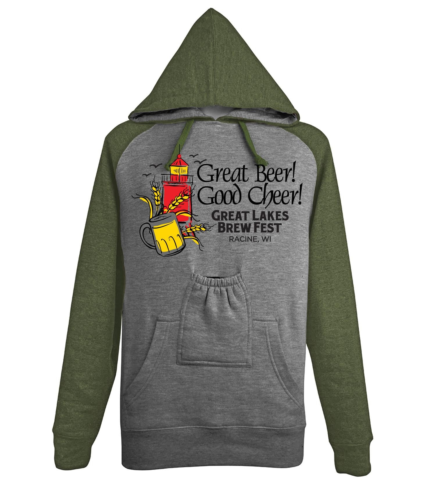 GLBF Hoody with Bottle Pouch (M only)