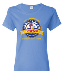 GLBF Ladies 2013 T-Shirt-Lt. Blue