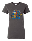 GLBF T-Shirt Ladies-Dark Heather (M)