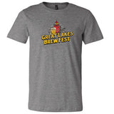 GLBF Men's T-shirt - Deep Heather (Large)
