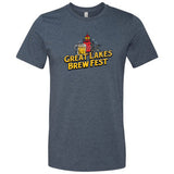 GLBF T-shirt - Heather Navy (M)