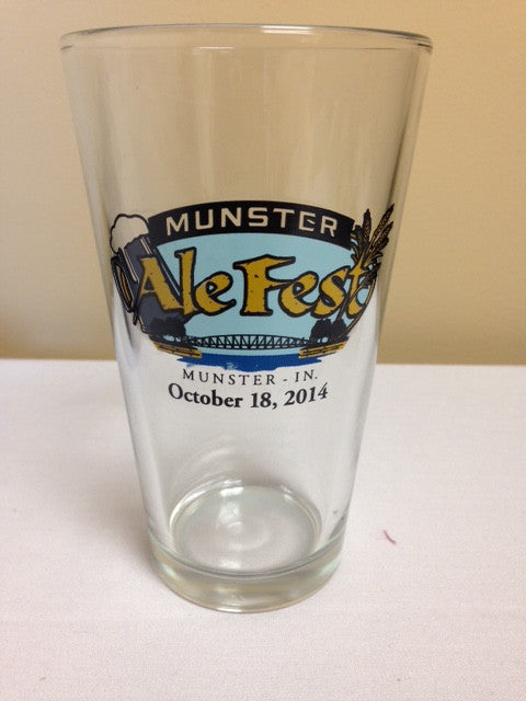 Munster 2014 Pint Glass