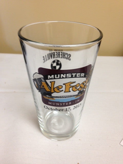 Munster 2015 Pint Glass