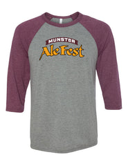 Munster Ale Fest 2016 Men's Baseball Jersey