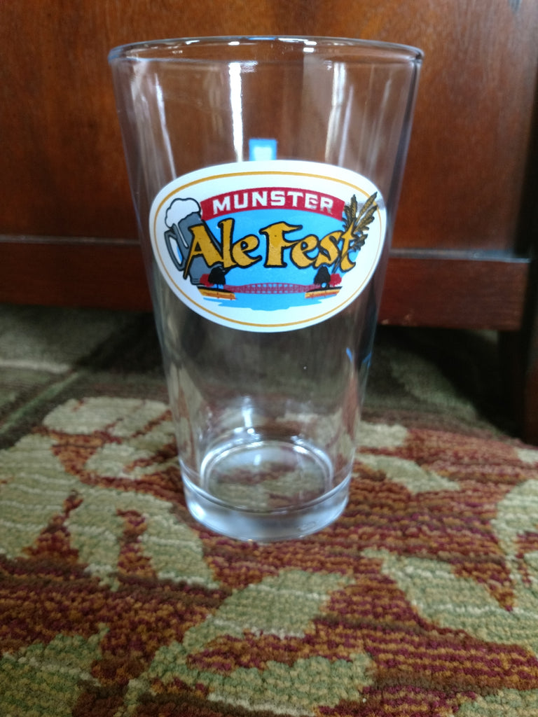 Munster 2017 Pint Glass