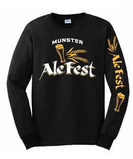 Munster Long Sleeve Black Shirt